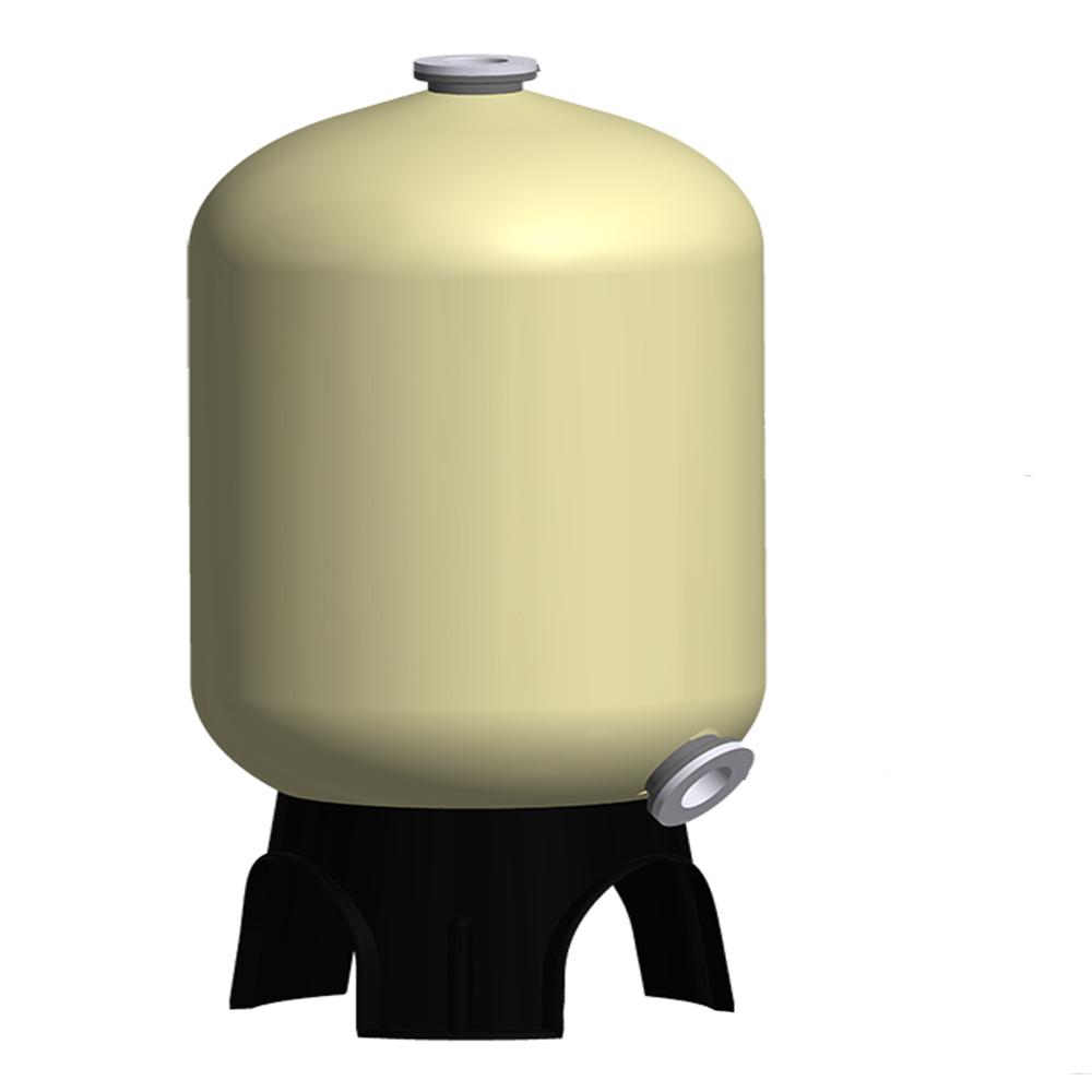 带卸料口玻璃钢树脂罐图片
